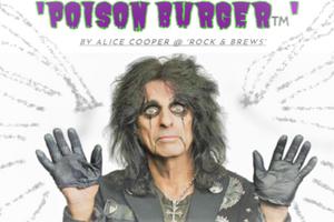 ROCKER & CHEF ALICE COOPER: 'THE POISON BURGER'!