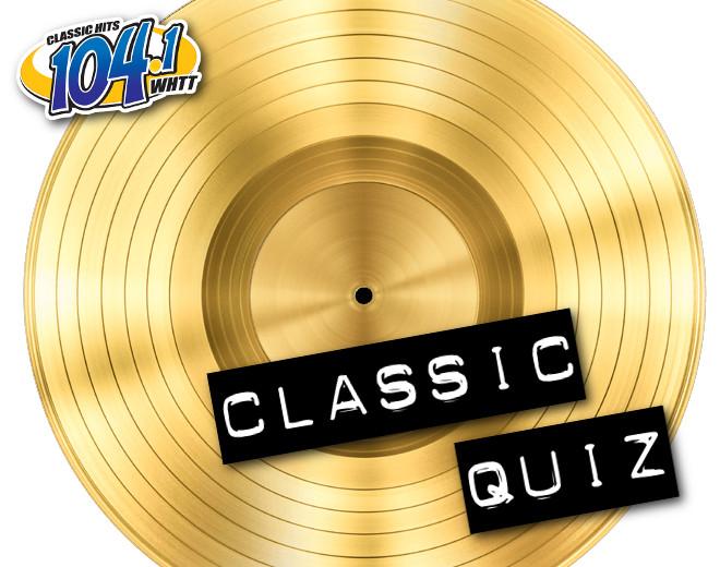 Classic Quiz (12/26/19)