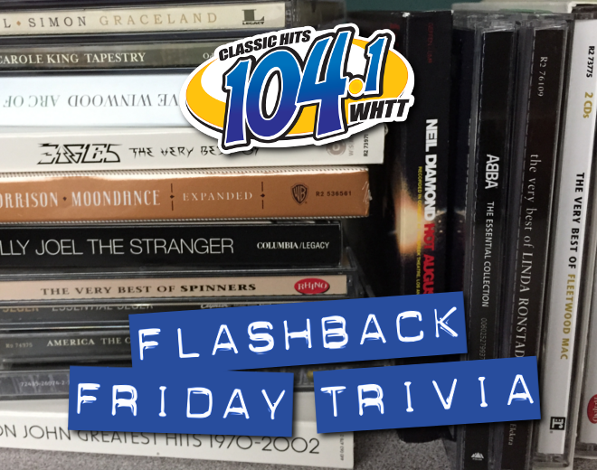 Flashback Friday Trivia (6/12/20)