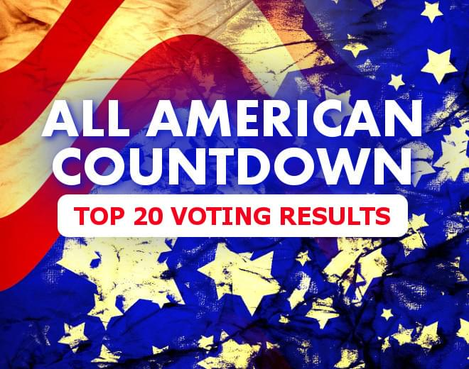 All American Countdown Voting Results