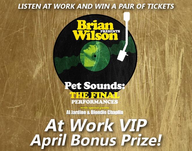 See Brian Wilson at Artpark