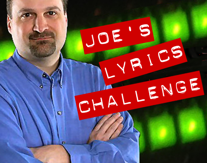 Joe's Lyrics Challenge #36