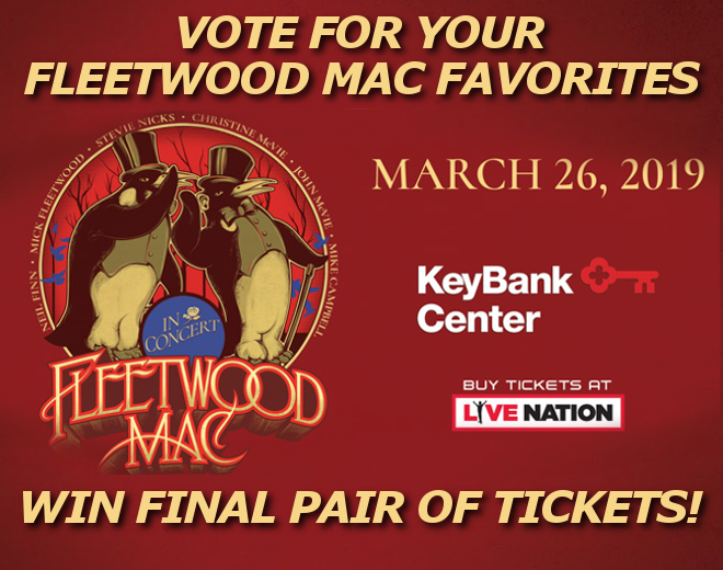 Vote For Your Fleetwood Mac Favorites To Win Tickets