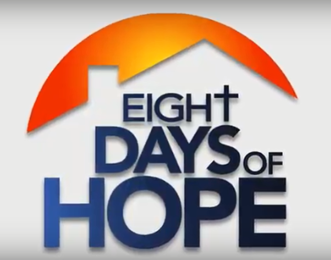 Support Eight Days of Hope This July