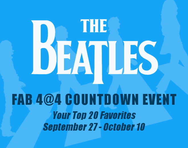 Your Favorite Beatles Songs Countdown