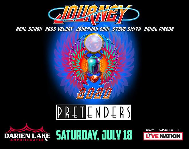 Journey & Pretenders at Darien Lake