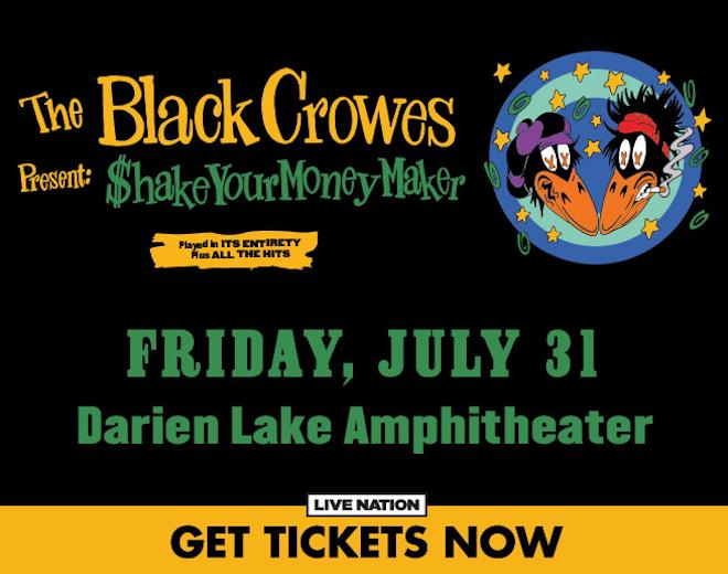 Black Crowes at Darien Lake
