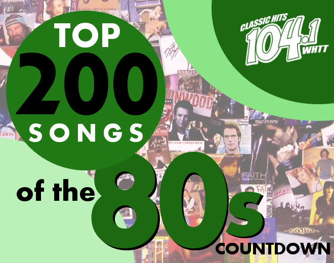 Top 200 of 80s Countdown List (November 2019)