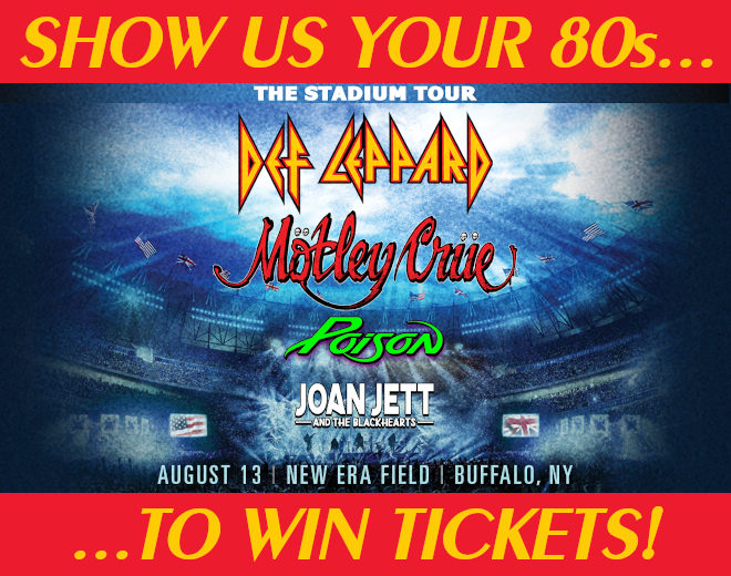 Show Us Your 80s To Win Stadium Tour Tickets