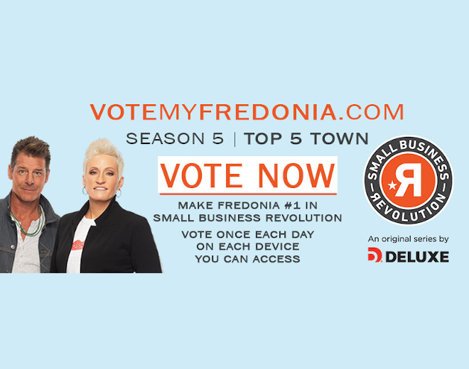 "Fredonia Named Top 5 finalist on ""Small Business Revolution"" Show"