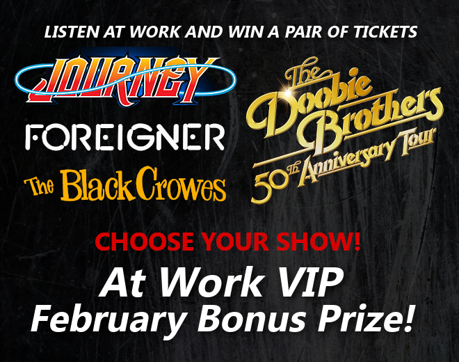 At Work VIP February Bonus Prize