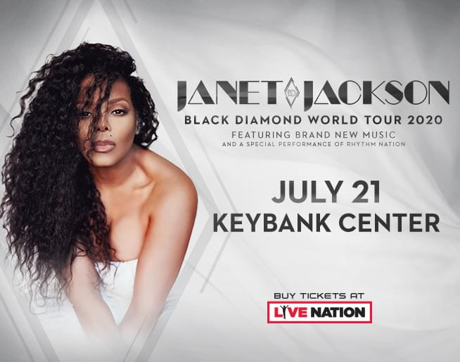 Janet Jackson at KeyBank Center