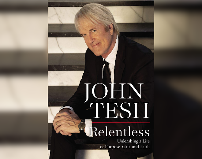 "Audio: John Tesh on new book ""Relentless"""