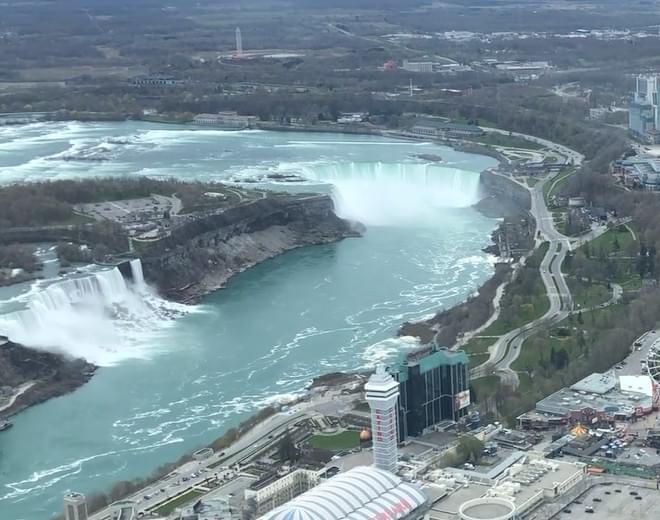 WNY Healthcare Flyover Niagara Falls