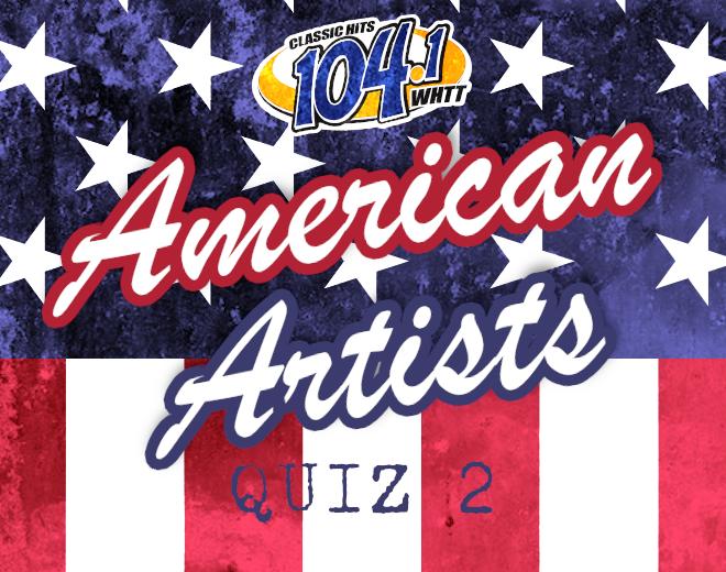 American Artists Quiz 2