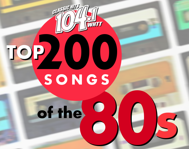 Top 200 Songs Of The 80s Countdown (2020 Edition)