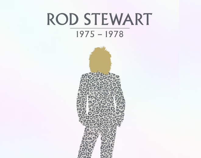 Win Rod Stewart's 1975-1978 Boxed Set