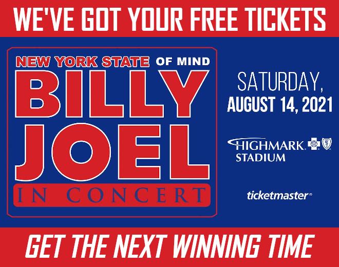 Last Chance To Win Billy Joel Tickets