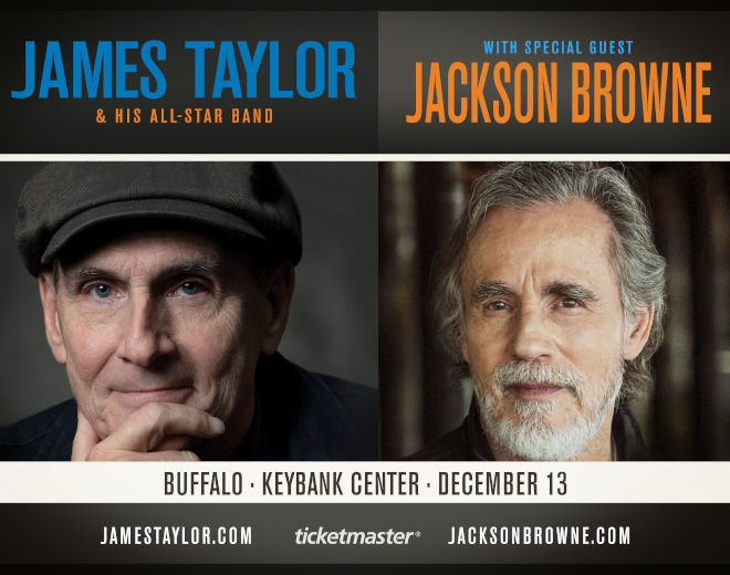 Win James Taylor and Jackson Browne Tickets