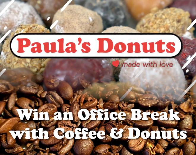 Win a Paula's Donuts Office Break
