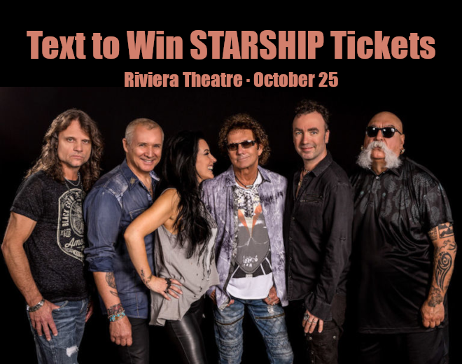 See Starship at The Riviera Theatre