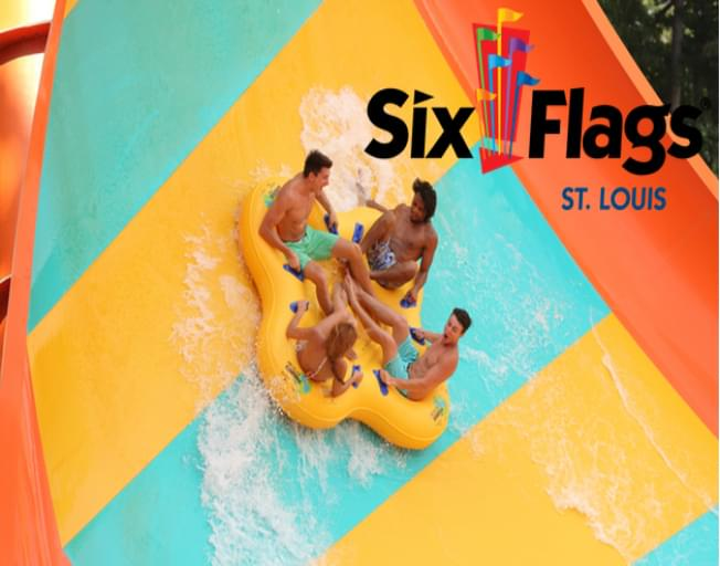 Text To Win Weekend: Six Flags St. Louis Tickets