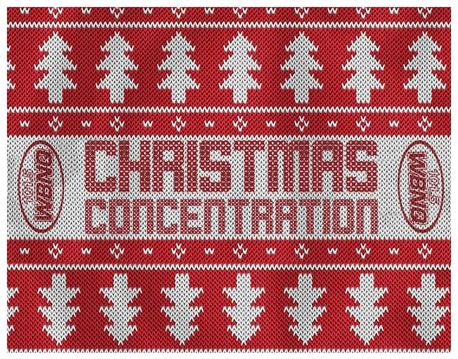 WBNQ's Christmas Concentration