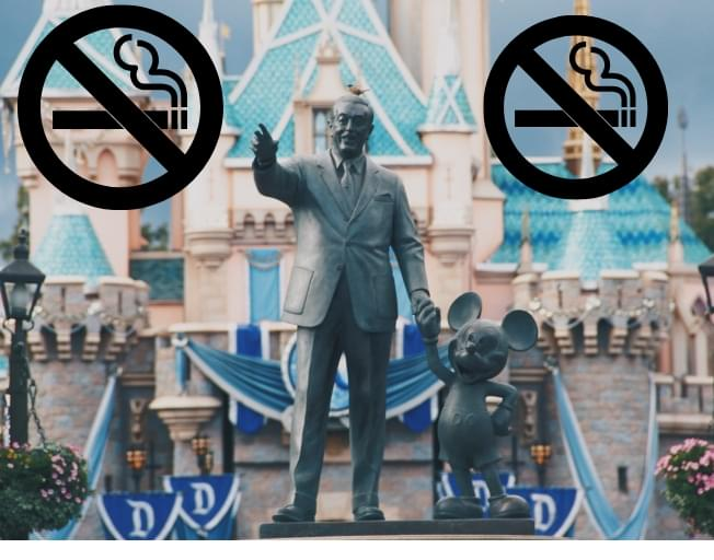 No More Smoking Or Vaping At Disney