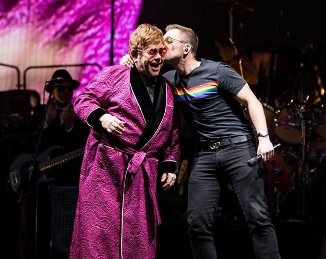 Taron Egerton and Elton John perform a duet of 'Your Song'