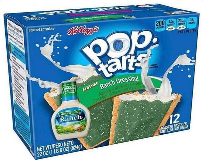 Would You Eat A Ranch Flavored Pop Tart?