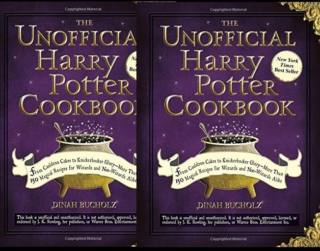 Harry Potter Cookbook Up For Sale