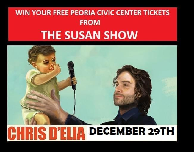 Win Tickets To See Chris D'Elia From THE SUSAN SHOW