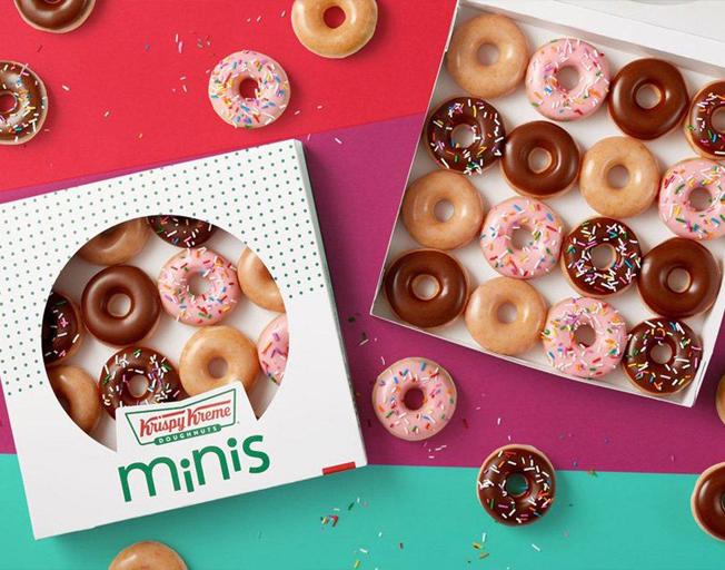 Krispy Kreme is Serving up Free Mini Doughnuts Every Monday in January