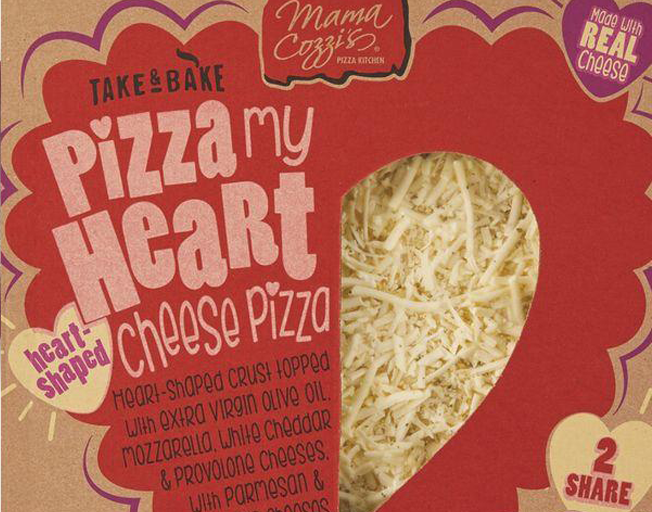 Aldi Is Selling Heart-Shaped Pizza