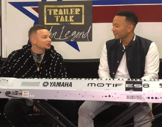 Kane Brown Teases New Song Collaboration With John Legend