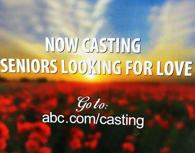 "Looks Like There Will Be A ""Bachelor"" For Seniors"