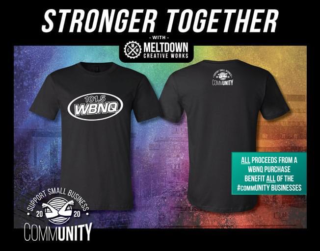 Buy Your Own WBNQ #commUNITY Shirt