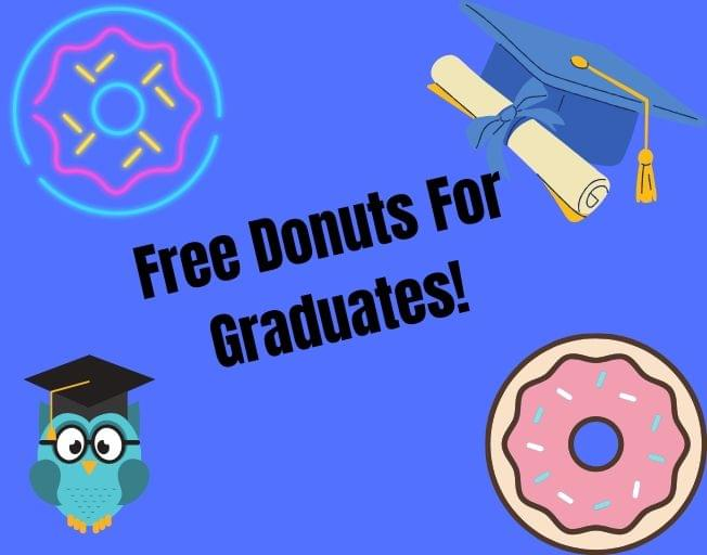 Use Your Cap And Gown To Get Free Donuts From Krispy Kreme