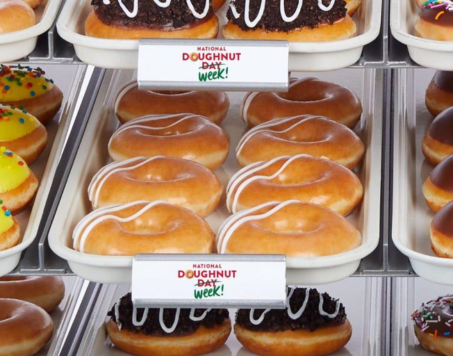 Krispy Kreme Giving Out Free Doughnuts Next Week