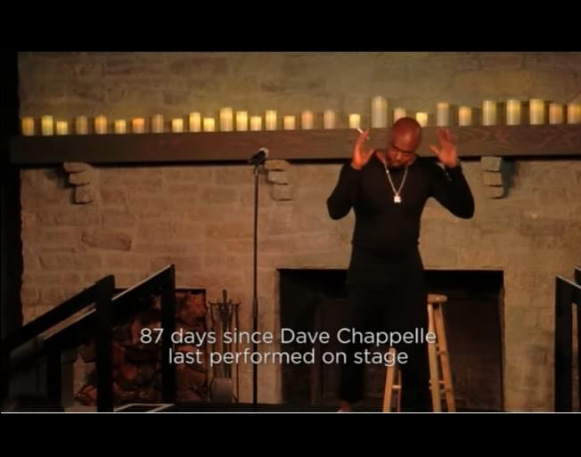 Dave Chapelle Released A New Stand Up Performance You Can See Right Here
