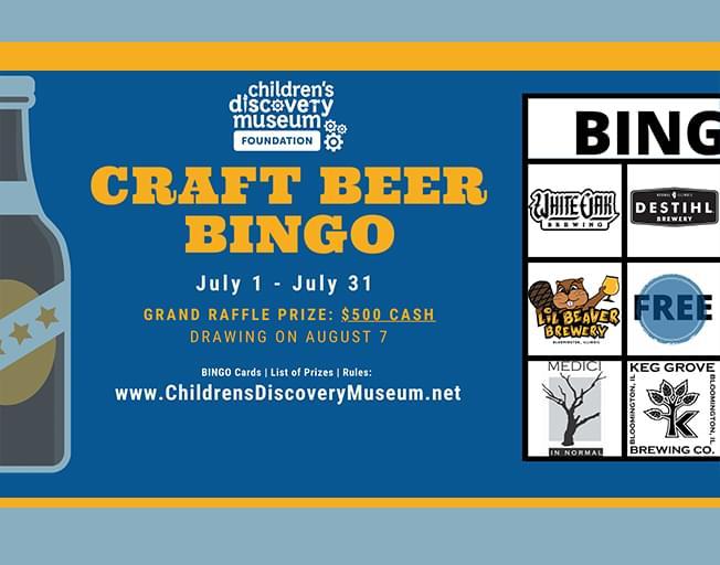 Play Craft Beer Bingo with WBNQ