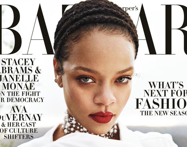 Rihanna Covers Harper's Bazaar September Issue