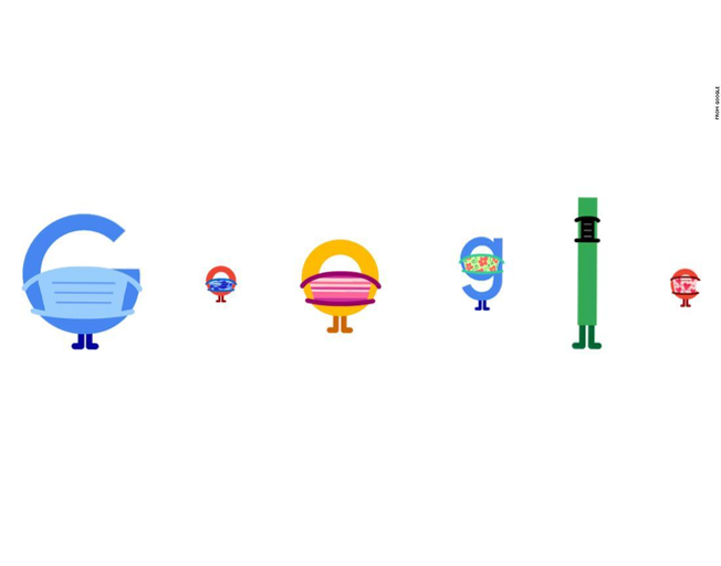 Today's Google Doodle Asks You To Wear A Mask