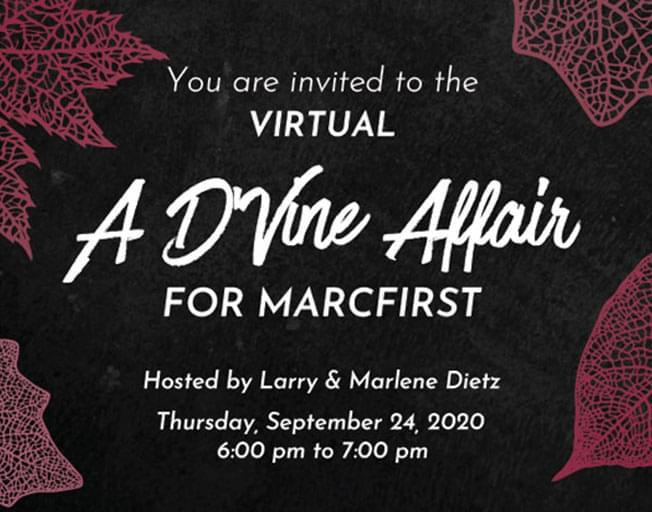 A Virtual D'Vine Affair for Marcfirst