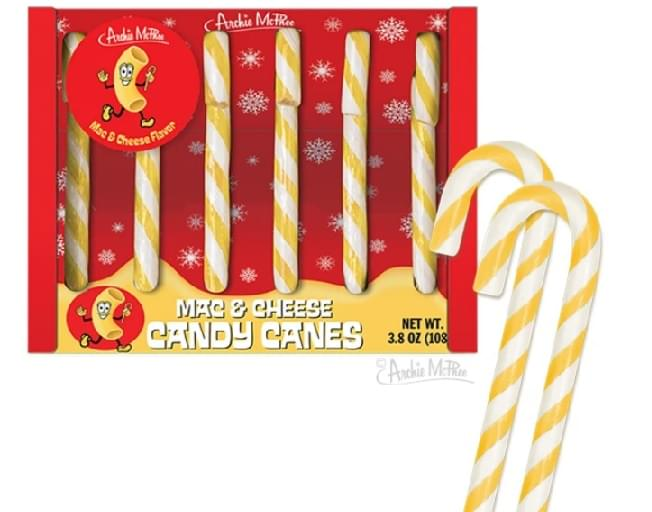 Ready For Mac And Cheese Candy Canes?