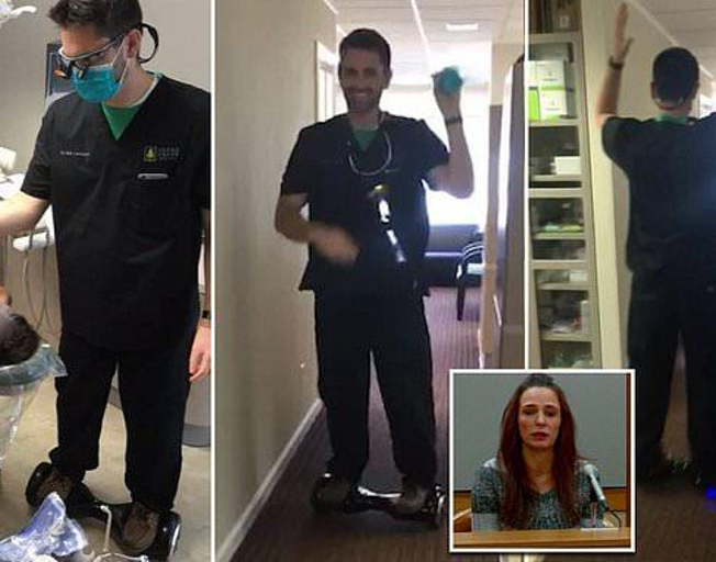 Dentist who Extracted Tooth on Hoverboard Sentenced to 12 Years in Prison