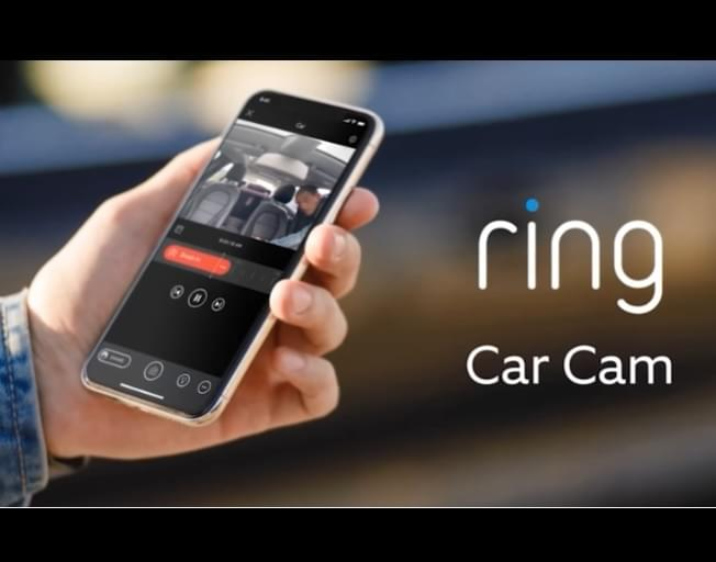 AMAZON RING Debuts A Car Dashcam With Traffic Stop Mode