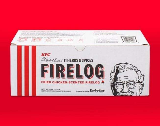 Want A KFC Fried Chicken-Scented Firelog?