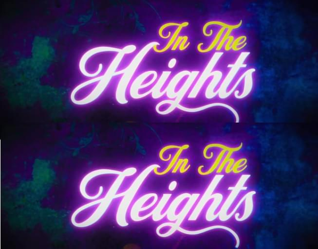 IN THE HEIGHTS Movie Musical Coming This Summer