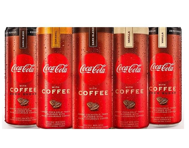Coca-Cola With Coffee Just Launched With Five Flavors